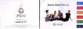 numéro de série pour l'enregistrement du PSiO
